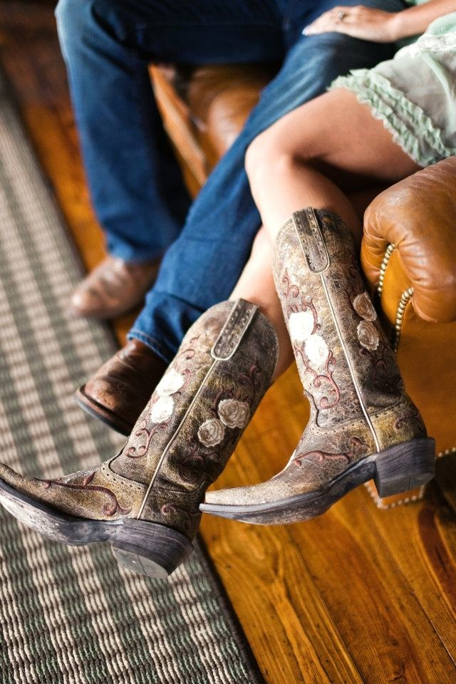 Pre-wedding boots