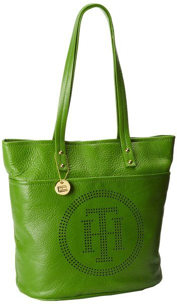 Tommy Hilfiger Bailey Pebble North-South Tote,Blue,One Size