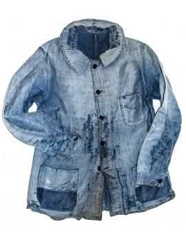 - 1920 patched chore jacket