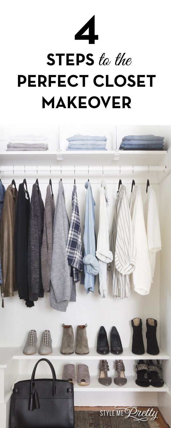 4 Steps to the Perfect Closet Makeover