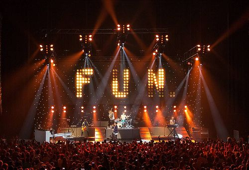 LED Stardrops create a dynamic backdrop for bands.  Rock concerts often use LED star drapes and LED lighting effects as part of the stage design.