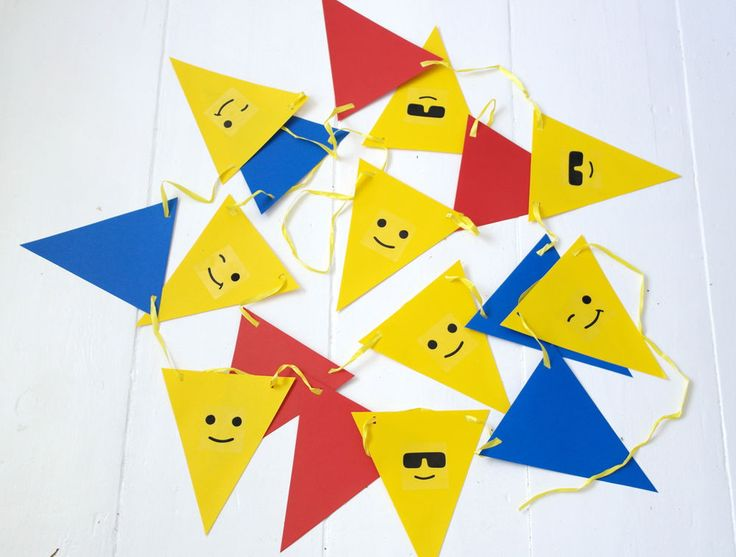 LEGO Birthday Party Bunting / Banner / Decorations / Garland / Supplies - NEW in Home, Furniture & DIY, Celebrations & Occasions, Party Supplies | eBay