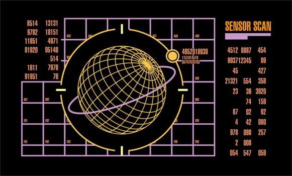 Sensor Scan by CmdrKerner  https://www.deviantart.com/cmdrkerner/art/Sensor-Scan-163874841 | Scan,  Sensor, Deviantart