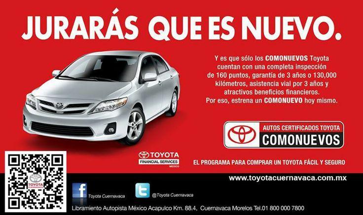 ¿Estas buscando un Seminuevo Comonuevo? Te invitamos a conocer nuestra amplia gama de vehículos seminuevos en Toyota Cuernavaca