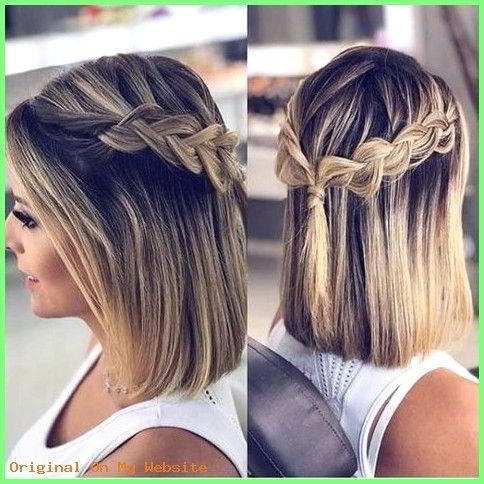 Prom Hairstyles 2019 – 25 stunning prom hairstyles for short hair – #streating # for # …