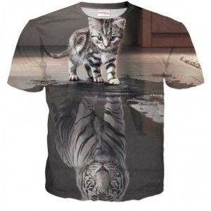 NIE WAŻNE KIM JESTEŚ TERAZ Koszulka T-Shirt Full Print 3D