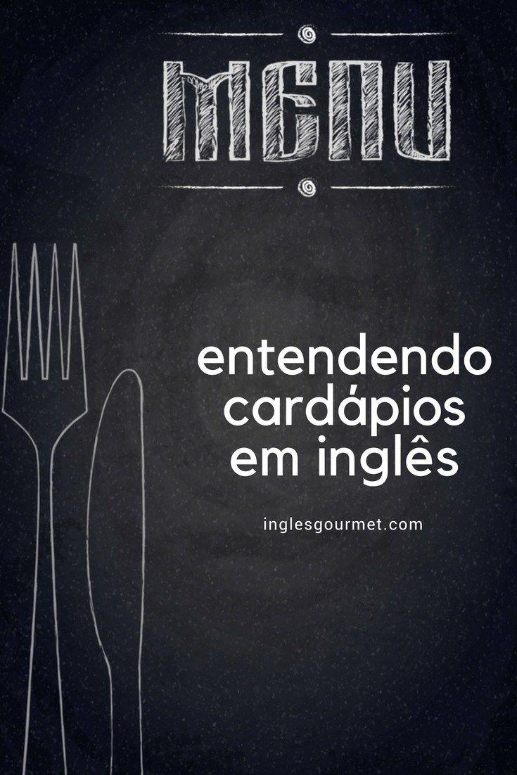 Atualizacao De Posts Cardapios Com Imagens Dicionario Ingles