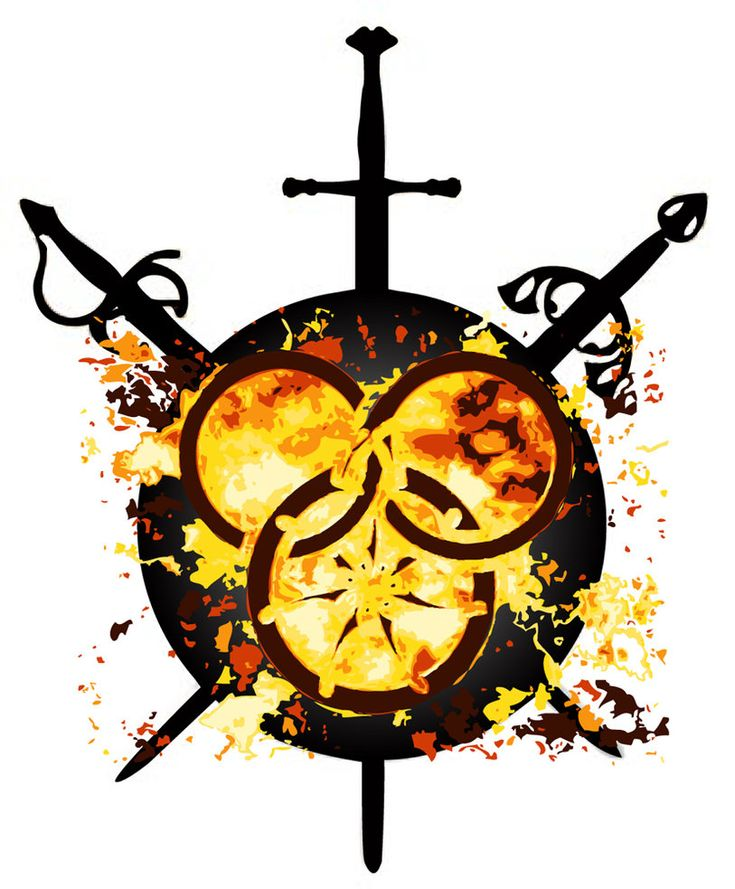 Or I could just go symbolic! Wheel of Time by ~nattfrost on deviantART