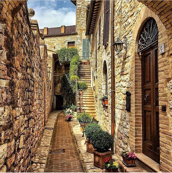 Spello, Umbria, Itália