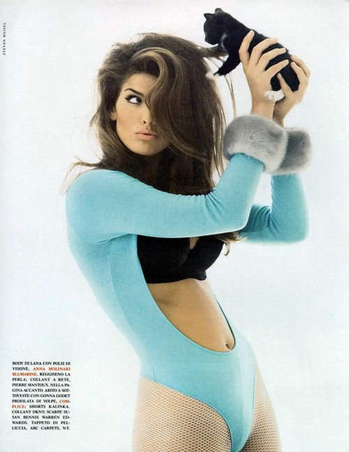 Vogue Italia October 1991, ph. Steven Meisel