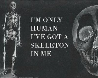Skeletons Scanning, Skull, Dem Bones, Random Quotes, Life Inspiration, Quotes Pics, Monsters, Im On Human, Bones Collector
