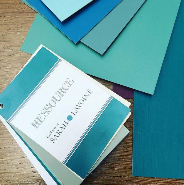 peinture le bleu sarah de sarah lavoine