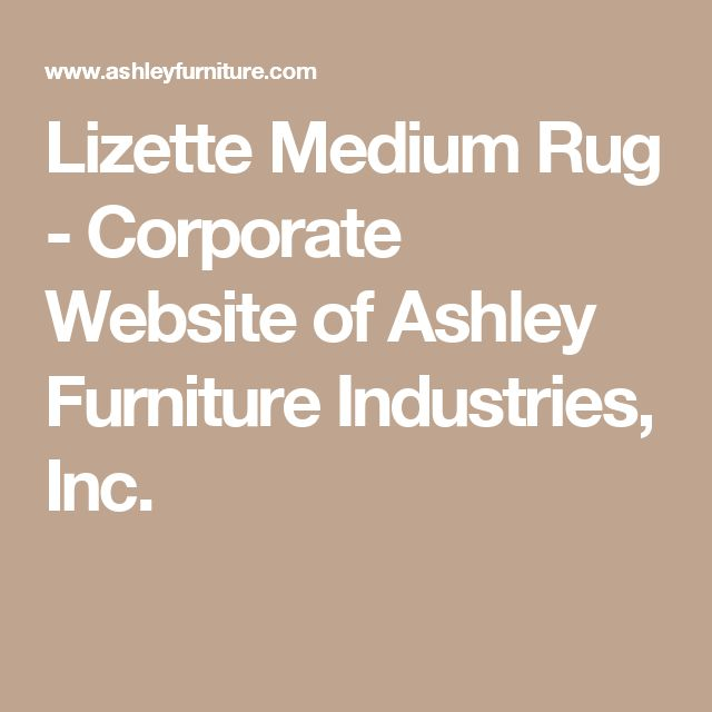 Lizette Medium Rug - Corporate Website of Ashley Furniture Industries, Inc.