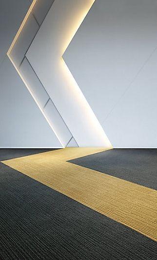 On Line / Interface Carpet Tile