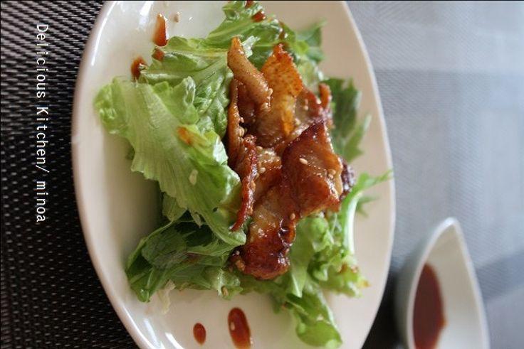 サラダの人気レシピ|いつものサラダを美味しくアレンジ! | レシピ ... 韓国風ドレッシングで人気サラダを自己流アレンジ