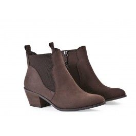 CHERI - BOOTS - CUIR - Andre
