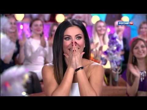 Виталий Гогунский и дочка (Новогодний парад звёзд 31.12.2014)