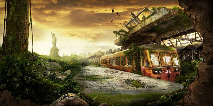 Post Apocalypse artwork — Last Station by Sonic ...