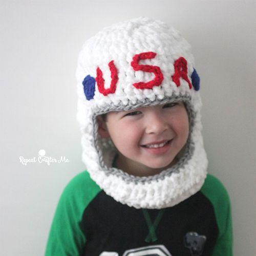 astronaut crochet - photo #23