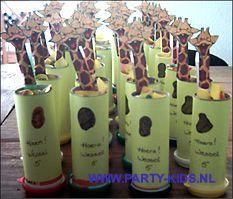 giraffe treat kids DIY