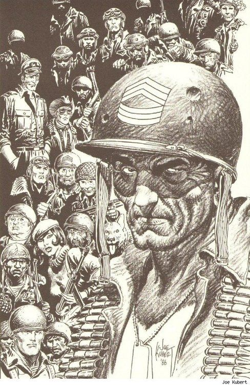 Comic Book Artist : Joe Kubert