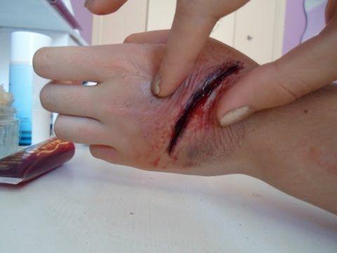 comment faire une fausse blessure ? - YouTube
