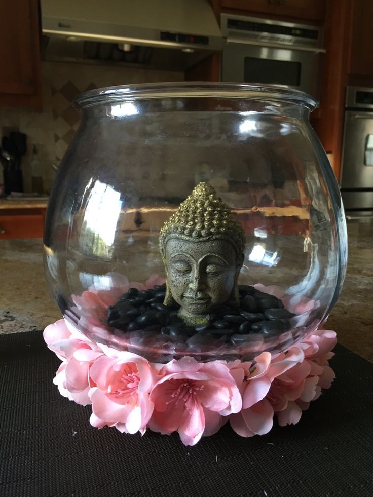 My DIY Buddha fish tank.