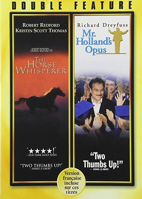 The Horse Whisperer / Mr. Holland's Opus (DVD / 2 DISC) Richard Dreyfuss, Glenne Headly, Robert Redford, Kristin Scott Thomas, Jay Thomas