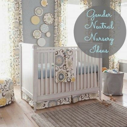 17 best images about gender neutral nursery ideas on for Baby room decor ideas neutral
