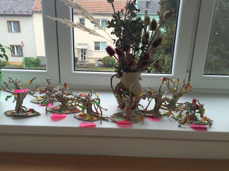 Stromečky z pytlíků na svačinky