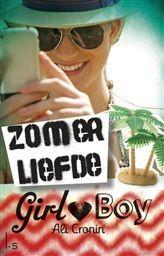 Zomerliefde. Girl heart boy is een nieuwe serie over een hechte vriendengroep van vier meisjes en drie jongens die dit jaar allemaal achttien worden. http://www.bruna.nl/boeken/zomerliefde-9789021808123