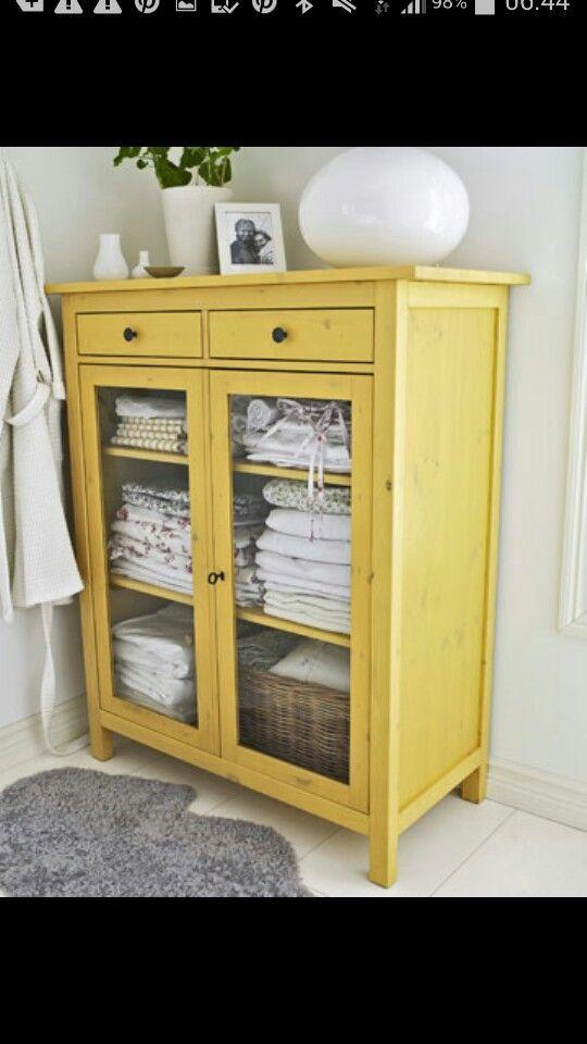 Hemnes linen cabinet bathroom Pinterest Linen cabinet, Linens and Cabinets