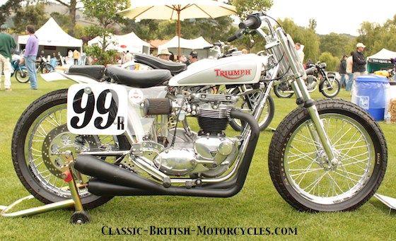 Old Triumph Motorcycles for Sale | flat trackers tt scrambles bikes 1968 triumph t120 bonneville flat