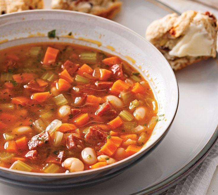 soupe portugaise brûle graisse minceur recette