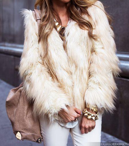 all white winterwear
