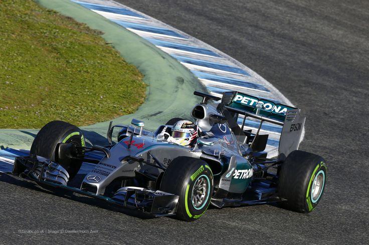 Lewis Hamilton , Mercedes , Circuito de Jerez, Testing, 2015
