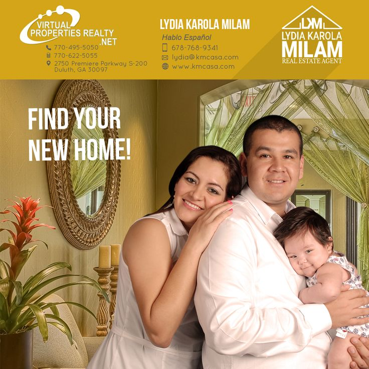 You deserve the BEST! I am here to help you find it. Call me 678-768-9341 #LydiaKarolaMilam #RealEstateAgent #MetroAtlanta #Buyer #Seller #VirtualPropertiesRealty #Kmcasa #HabloEspañol