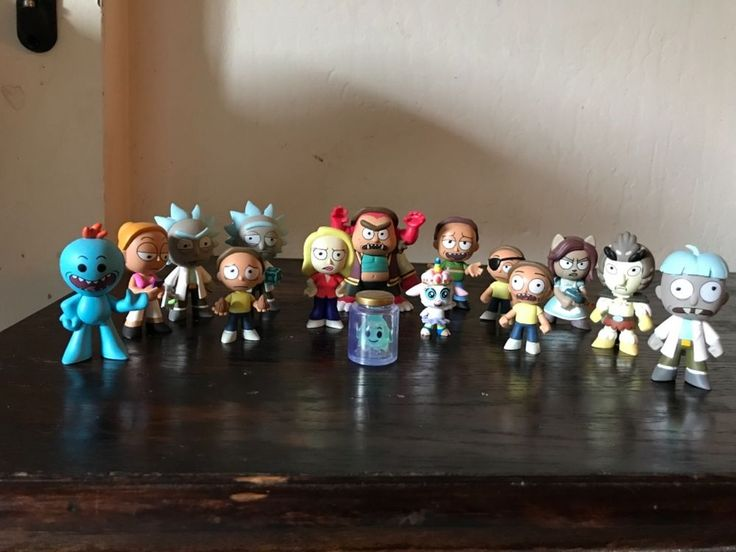 Rick and Morty Funko Mystery Minis lot #Funko