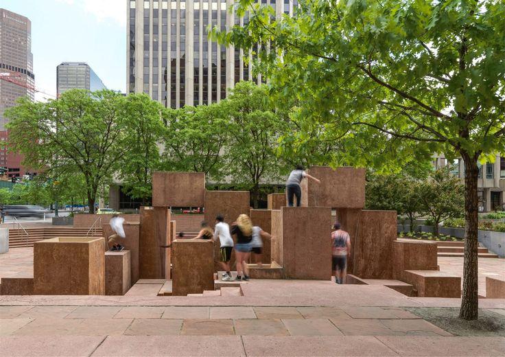 Exhibition surveys work of modernist landscape architect Lawrence Halprin