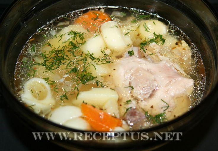 Суп из жилудков