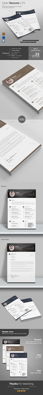 Resume / CV Template PSD, AI #design Download: http://graphicriver.net/item/resume-cv/13623569?ref=ksioks