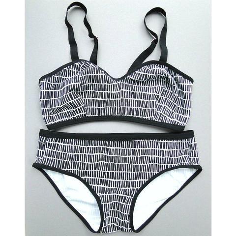 black white underwear