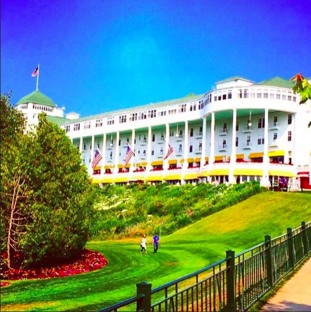Summertime In Northern Michigan Check Out Those Colors Amerimerplace Grandhotel
