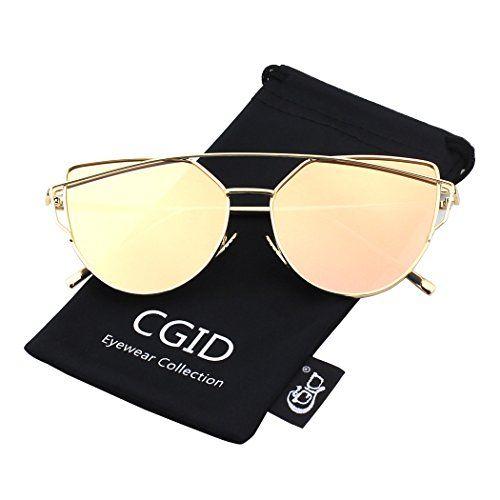 polarisiert verspiegelt sonnenbrille damen