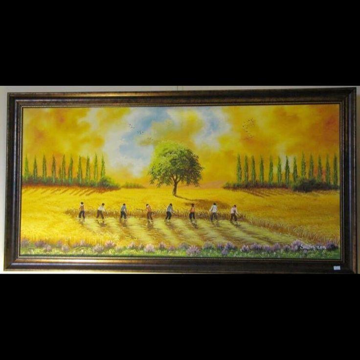 ✨HASAT ZAMANI ✨ 50x100 Tuval Üzeri Yağlı Boya.  #resim #tablo #sergi #resimsergisi #ressam #yağlıboya #oilpainting #sanat #ankara #izmir #istanbul #art #artwork #fineart #vscocam ✨Bu Esere Sahip Olmak İçin; Okan Sartaş 05074409494✨ #drawing #canvas #ig_turkey #turkeyinstagram #turkeyartist #artofdrawing #ig_art