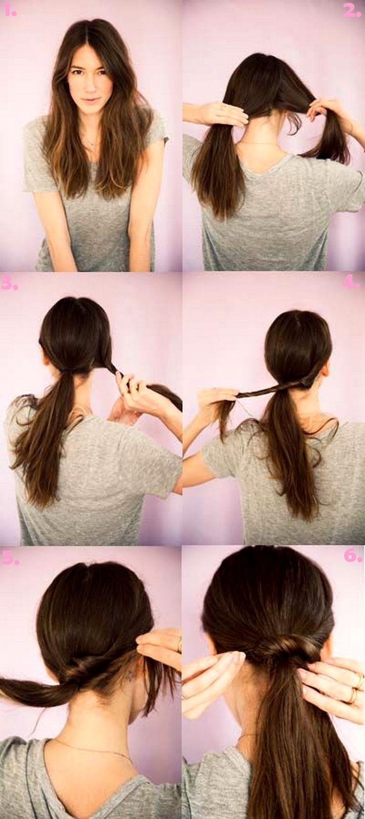 cool 50 Идей, как сделать красивый хвост на длинные волосы — Новые идеи привычной прически (фото) Читай больше http://avrorra.com/kak-sdelat-krasivyj-xvost-na-dlinnye-volosy-foto/