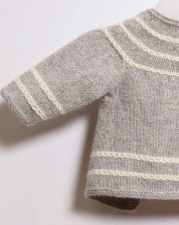 Understanding Knitting Patterns Instructions : Baby cardigan knitting pattern instructions in english