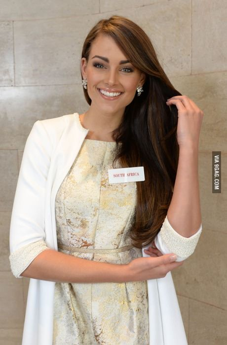 Rolene Strauss, Miss South Africa