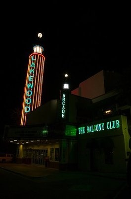Martinis & Jazz - The Balcony Club next to the old Lakewood Theater, Dallas, TX