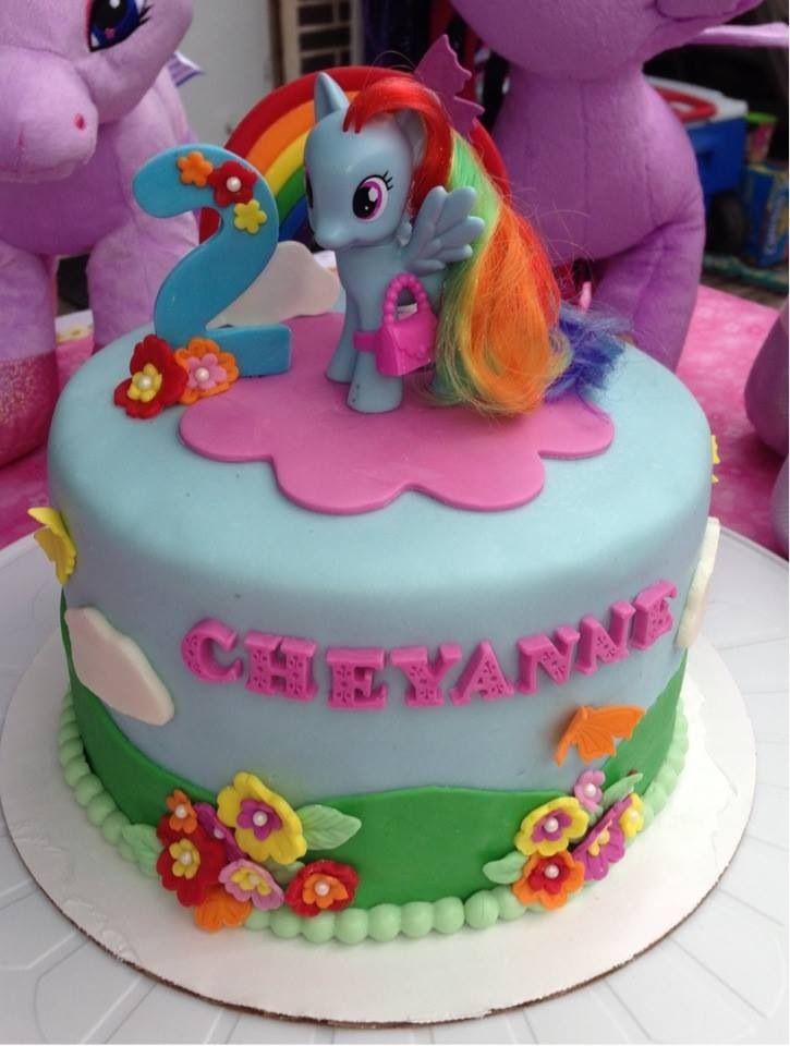 My lil pony cake